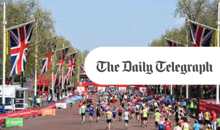Daily Telegraph: The 2019 London Marathon property price map